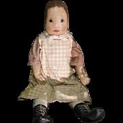 Wonderful Folk Art primitive cloth doll