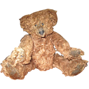 Charming curly mohair Bear by   Mary Meyer