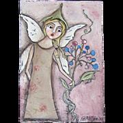 Wonderful original Fairy painting