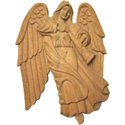 Gorgeous Angel wood carved