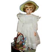Charming doll one of a kind sculpt