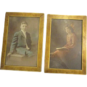 Beautiful Antique pictures in great frames