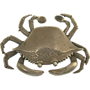 Vintage S Kirk and Son Sterling Silver Crab
