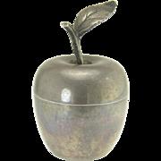 Vintage Tiffany Sterling Silver Apple Trinket Ring Box