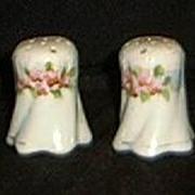 Pair of Nippon Salt & Pepper Shakers- Hand Painted
