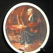 SOLD 1979 Norman Rockwell Mother's Day Plate