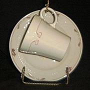 """Pair Of """"Brentwood"""" Syracuse China Cups And Saucers"""
