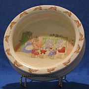 "Royal Doulton ""Bunnykins"" Child's Cereal Bowl"