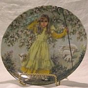 """Reco """"Little Bo Peep"""" Collector Plate"""