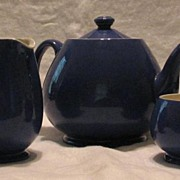 Moorcroft Three Piece Tea Set