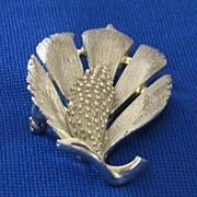 Lisner Silver Tone Pin