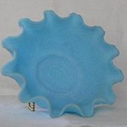 Fenton Satin Glass Persian Medallion Bowl
