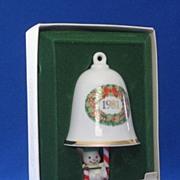 "Hallmark 1981 ""Swingin Bellringer"" Christmas Ornament"
