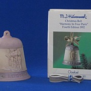 """1992 Hummel Bell Titled, """"Harmony In Four Parts"""""""
