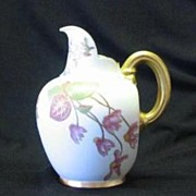 Royal Worcester Hand Decorated Pitcher