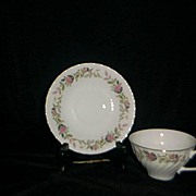SALE Creative China Regency Rose #2345 Cup And Saucer