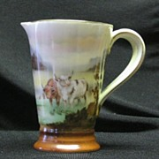 SALE Royal Bayreuth Scenic Double Handled Pitcher