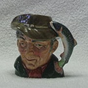 "Royal doulton Small ""The Poacher"" Character Jug"