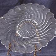 "Fostoria ""Colony"" Handled Cake Plate"