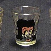 Three Novelty Shot Glasses