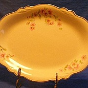 "Homer Laughlin ""Virginia Rose"" Small Platter"