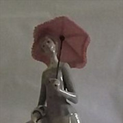 "Lladro Retired Figurine Titled ""Dressmaker"""