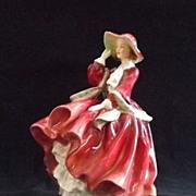 "Royal Doulton Figurine ""Top o the Hill"" HN1834"