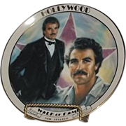 SOLD Tom Selleck Hollywood Walk Of Fame Collector Plate