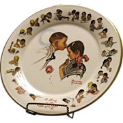 SOLD Gorham Norman Rockwell Collector Plate