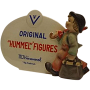 M. I. Hummel Figures Dealer Display