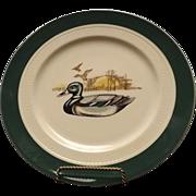 Syracuse China Restaurant Ware Duck Motif Dinner Plate