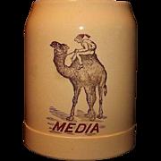 """Shriners Mug Marked """"Media"""""""
