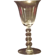 "Imperial Glass ""Candlewick"" Wine Goblet"