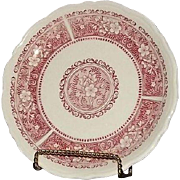 "Three Syracuse China ""Strawberry Hill"" Salad Plates"