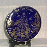 SOLD Lindner 1974 Christmas Plate