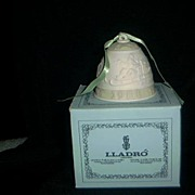SALE Lladro 1988 Christmas Bell