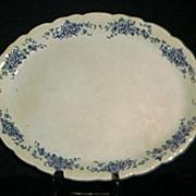 SALE Buffalo Pottery La France Rose Platter