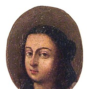 SOLD OLD MASTER Oil on Copper Miniature of a Lady, ca.1650!