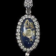 SALE WOW! Royal Coronation Souvenir Pendant, King Charles IV of Spain, c.1788!