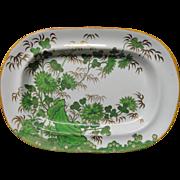 SALE Rare Antique Copeland and Garrett Bacon Platter ~ 1835