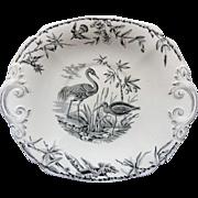 Antique Aesthetic Movement INDUS Cake Plate ~ 1885