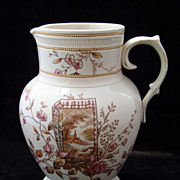 SALE Perfect Aesthetic Polychrome Pitcher 1884