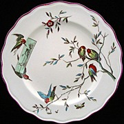 SALE OUTSTANDING Aesthetic Movement Plate ~ 1875