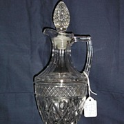 Imperial Cape Cod Handled Decanter & Stopper