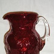 Morgantown #1933 LMX Spanish Red Ockner Pattern Jug