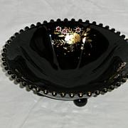Imperial Black Candlewick Bowl Pattern No. 400/74B