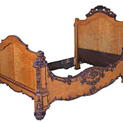 Rocco Rosewood and Birds eye Maple Day Bed