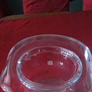 Large Blenko Hand Blown Top Hat Ice Bucket