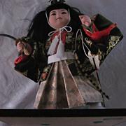 Kyugetsu Yamaha Samurai Boy Doll