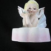 1950's-60's Blonde Angel Lipstick Holder
